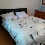 Schlafzimmer mit 1,60m Doppelbett