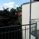 Blick vom Balkon nach Südwesten