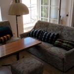 Sofa, auch als zusätzliche Schlafcoach aufklappbar